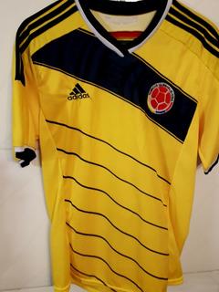 Camisa Da Colombia 2014 Tam M