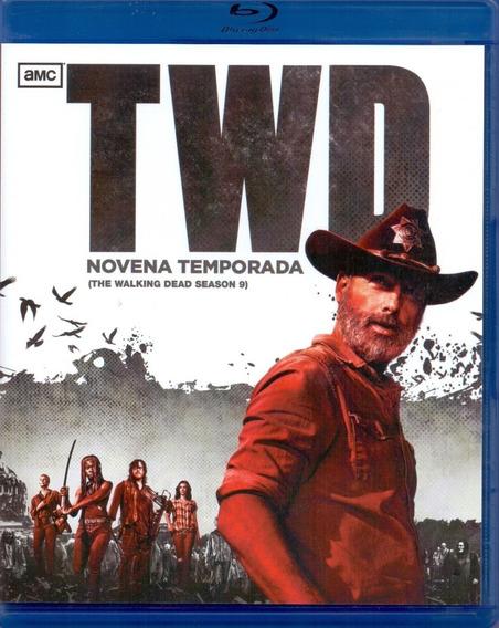 The Walking Dead Novena Temporada 9 Nueve Blu-ray