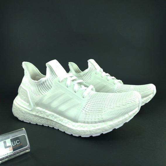 Tênis adidas Ultra Boost 19 Triple White 100% Original