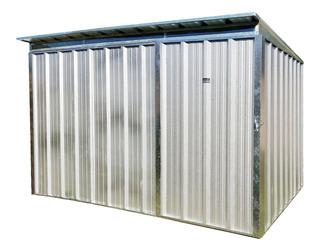 Deposito Exterior Caseta Galponcito Chapa Natural 3,20x2,00