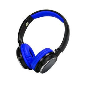 Fone De Ouvido Bluetooth Sd Fm Kp 439 Azul