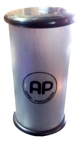Imagen 1 de 10 de Shaker Ap Afro Percusion Grande Metalico De 20cm