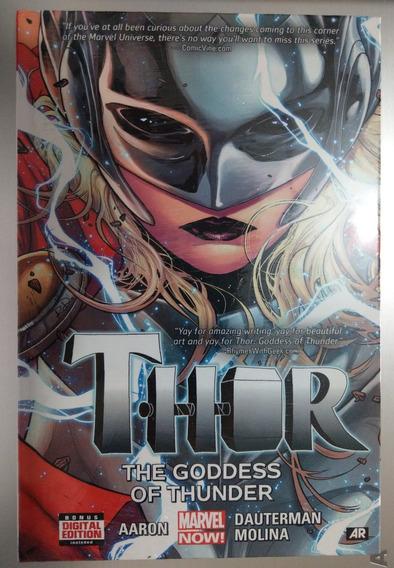 Thor The Goddes Of Thunder (ingles) Pasta Dura