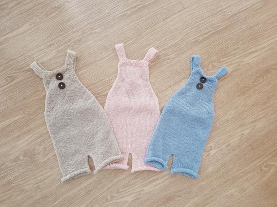 3 Pças Macacão Newborn Wrap Props Roupa Fotografia