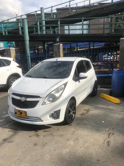 Chevrolet Spark Gt 2013 Blanco Rines De Lujo