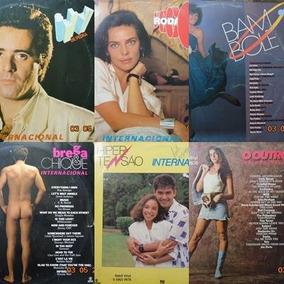 Trilha Sonora De Novelas Lote C/ 06 Vinil De 1986 A 1987