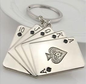 Chaveiro Cartas Baralho Pôquer (frete R$10,00 Leia Descrição