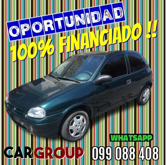 Chevrolet Corsa Gl Año 1997 Impecable 100% Financiado