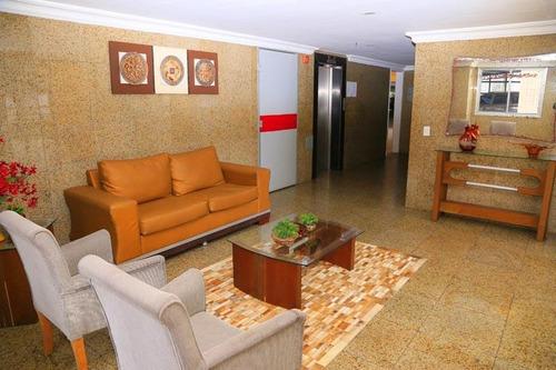 Apartamento Com 3 Suítes À Venda, 117 M² Por R$ 480.000 - Fátima - Fortaleza/ce - Ap1892