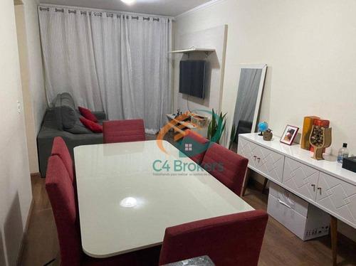 Imagem 1 de 20 de Apartamento Com 2 Dormitórios À Venda, 55 M² Por R$ 320.000,00 - Vila Galvão - Guarulhos/sp - Ap4807