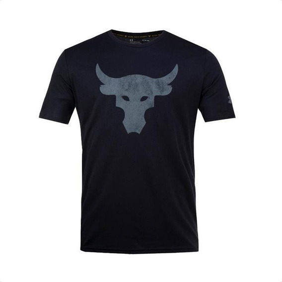 Remera Under Armour Project Rock Brahma Bull Hombre Training