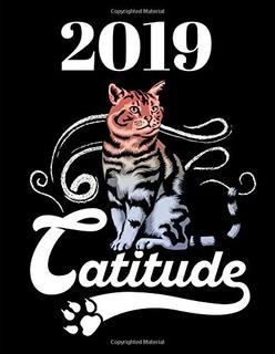 2019 Catitude 365 Días Planificador Semanal