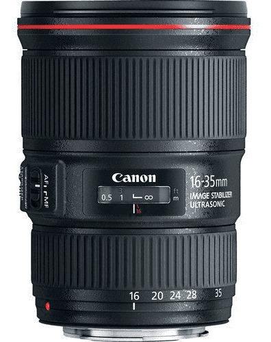 Lente Canon Ef 16-35mm F/4l Is Usm Nova Promoção!!!!!!!!!!