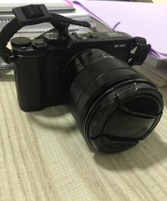 Vendo Camêra Fujifilm X-m1 + Lente Fujifilm
