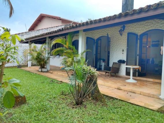 Casa A Venda No Bairro Enseada Em Guarujá - Sp. - En683-1