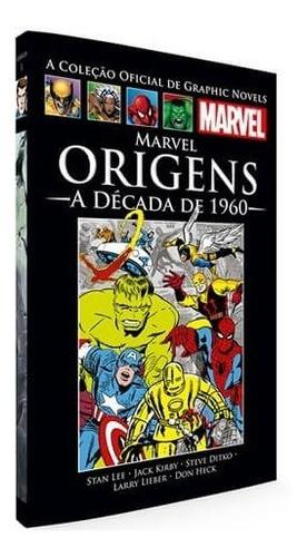 Graphic Novels Marvel Origens - A Década De 1960