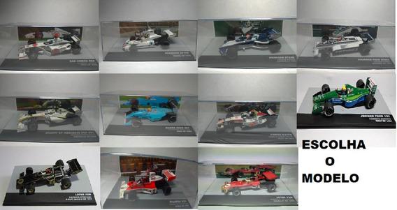 Coleção Lendas Do Automobilismo Br Senna Escolha O Modelo