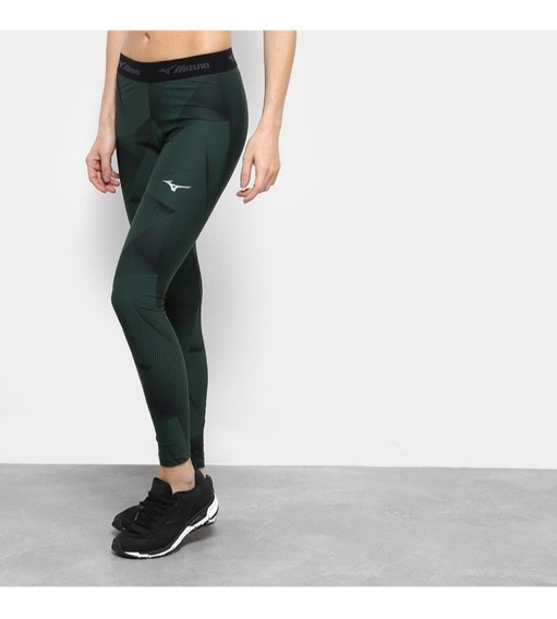 Legging Mizuno 100% Original Up Stamp Feminino+ Brinde