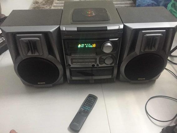 Mini System Aiwa Nsx -s202 Som Antigo Defeito