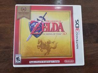 The Legend Of Zelda Ocarina Of Time 3d - Nintendo 3ds Ds