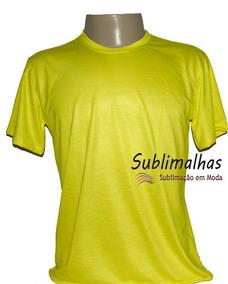 Kit 10 Camisas Sublimação - 100% Poliéster