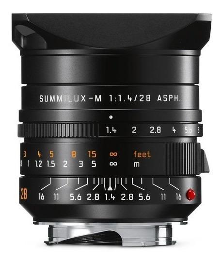 Leica Summilux-m 28mm F/1.4 Asph Lente 11668