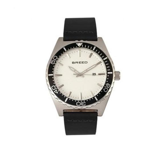 Modelo Varon Reloj Breed Ranger Brd8001 - Negro Plata