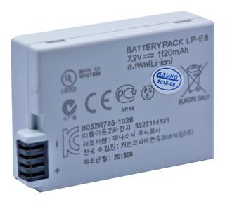 Bateria Lp-e8 Para Canon Eos Rebel T2i, T3i, T4i T5i 550d..