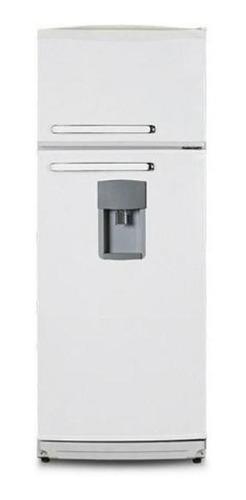 Heladera Bambi 2F1600D  blanca con freezer 328L 220V