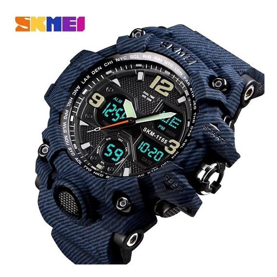 Relógio Masculino Digital Esportivo Skmei 1155 A Prova Dagua