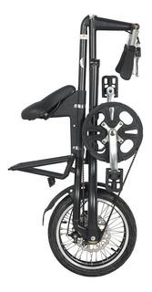 Bicicleta Dobrável Preta Cicla