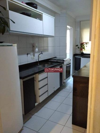 Apartamento Com 2 Dormitórios À Venda, 66 M² Por R$ 360.000,00 - Picanco - Guarulhos/sp - Ap4018