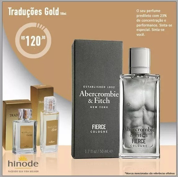 Perfume Abercrombie - Traduções Gold 17 Hinode