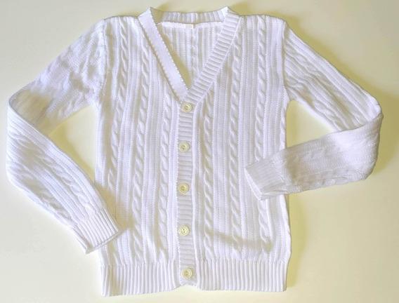 Cardigan Sweater Varón Hilo Algodón