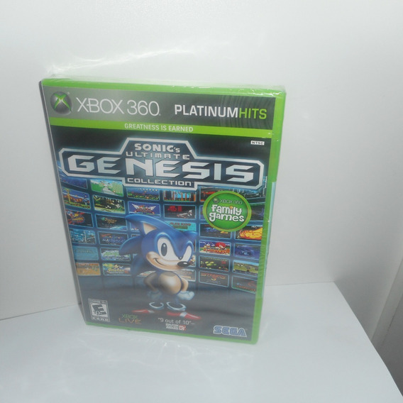 Sonic´s Ultimate Genesis Collection Xbox 360 Física Lacrado