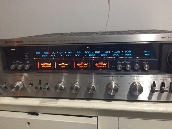 Receiver Kenwood Kr 9600 Monster Da Marca