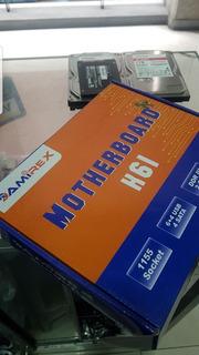 Placa H61 Socket 1155 2da Y 3ra Generacion
