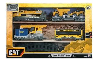 Cat Tren Iron Diesel Motorizado Locomotora - Giro Didáctico