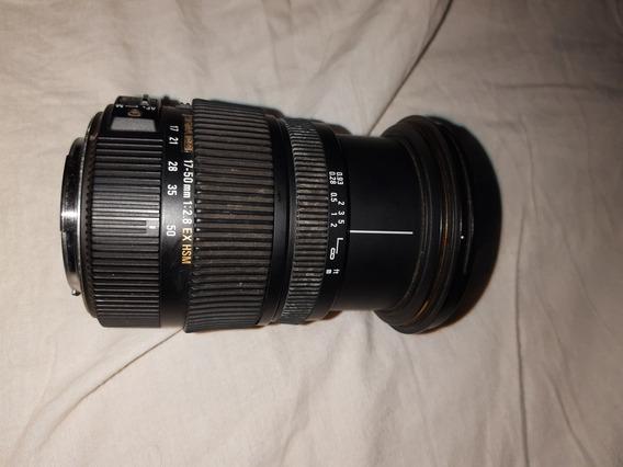 Lente Sigma 17-50mm 2.8 P/ Canon