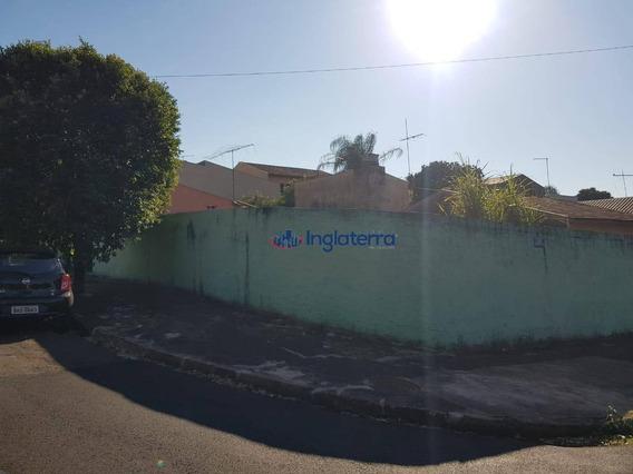 Casa Com 2 Dormitórios Para Alugar, 110 M² Por R$ 830,00/mês - Centro - Londrina/pr - Ca1591