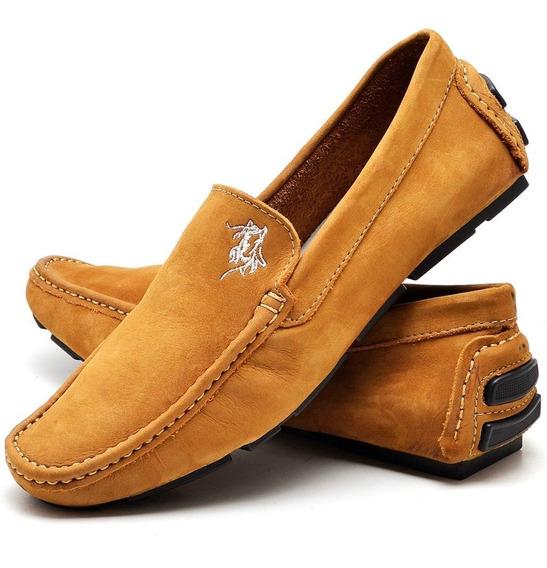 Sapato Masculino Slip Polo Power Couro Legítimo