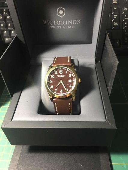 Relógio Vitorinox Swiss Army, Mostrador Marrom / Lindíssimo