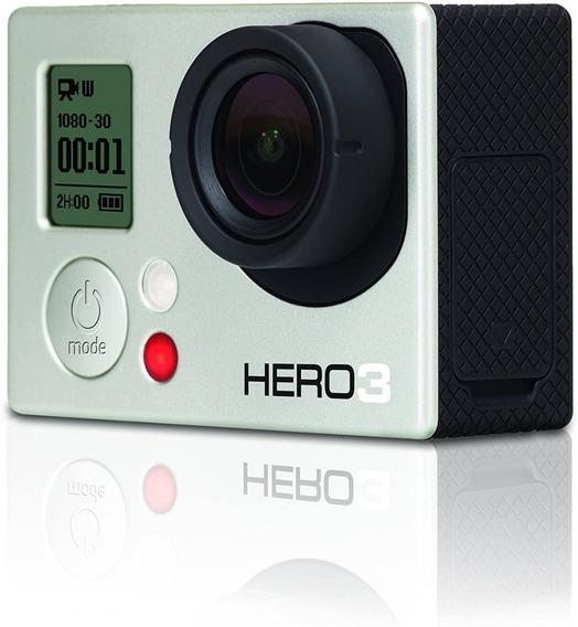 Gopro Hero 3 Com Wi-fi E Tela Lcd. Muito Nova!