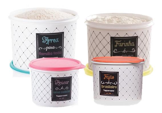 Tupperware® - Bistro Arroz Feijão Açúcar Farinha E Sal