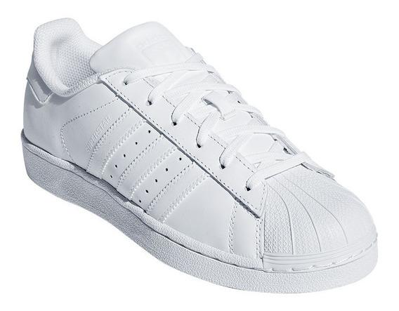 Tenis adidas Superstar Foundation Blancos / adidas Concha
