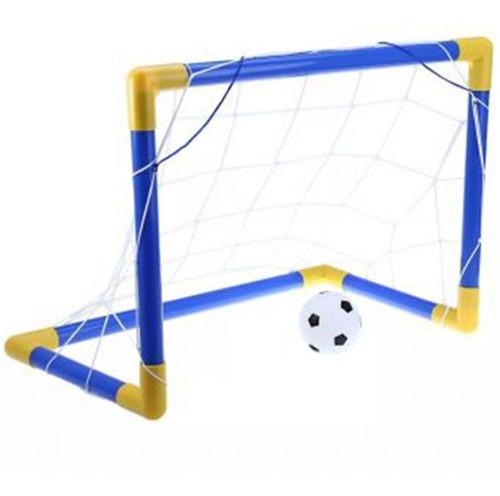 Imagen 1 de 6 de Set 2 Portería De Futbol Soccer Armable Para Niño Infantil