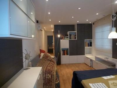Apartamento A Venda Em São Paulo, Centro, 2 Dormitórios, 1 Banheiro, 1 Vaga - 49