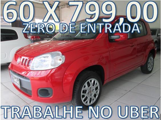 Fiat Uno 1.0 Vivace Flex Completo Unico Dono