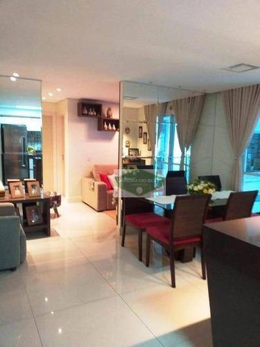 Apartamento À Venda, 77 M² Por R$ 560.000,00 - Morumbi - São Paulo/sp - Ap4477