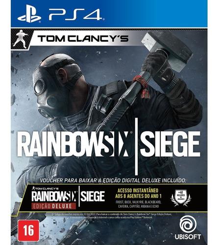 Rainbow Six Siege Deluxe Edition Ps4 Português Física Lacrad